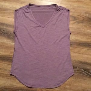 Lululemon Lilac Sleeveless Tank Top